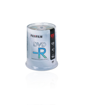 Fuji DVD-R (16x) 100 pack Spindle